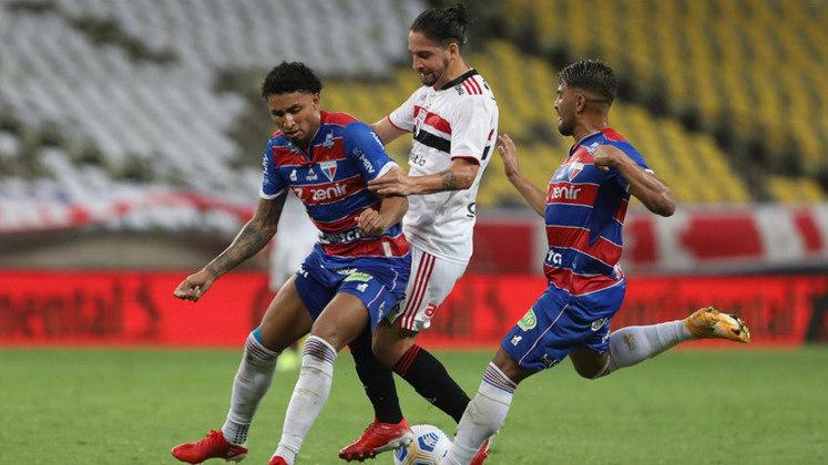 Fortaleza: ganhou 17,21 milhões de reais por chegar nas semifinais da Copa do Brasil / Pode faturar 40,21 milhões de reais em caso de vice-campeonato ou 73,21 milhões de reais pelo título