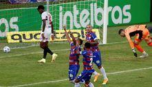 Volpi falha, e Fortaleza elimina o São Paulo da Copa do Brasil