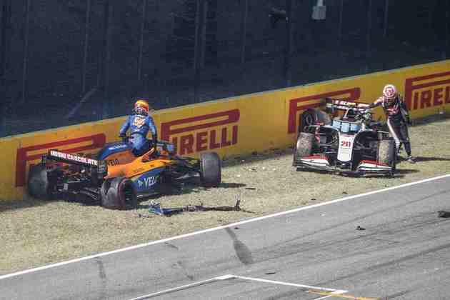 Forte acidente causou primeira bandeira vermelha em Mugello