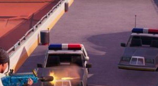 Fortnite remove carros da polícia em resposta ao Black Lives Matter