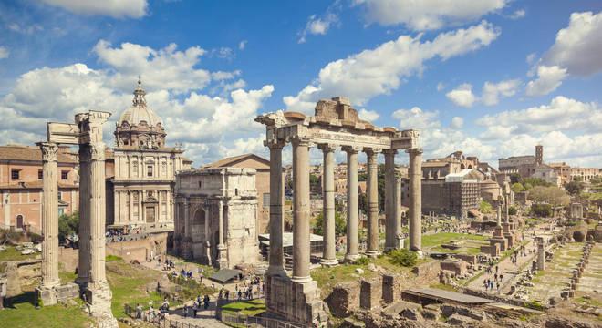 Às vezes as cidades no epicentro do colapso são recuperadas, como foi o caso de Roma