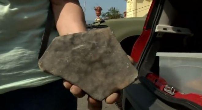 Item do acervo recuperado das cinzas por curadora do Museu Nacional
