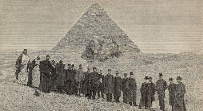 Como as pirâmides foram construídas tem sido objeto de grande especulação