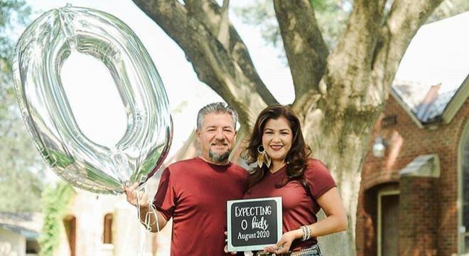 A contagem de 0 filhos em casa em agosto animou esse casal