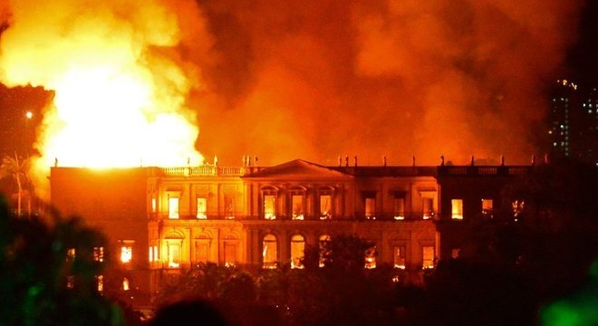 Museu Nacional, que pegou fogo, foi fundado por Dom João 6º em 1818