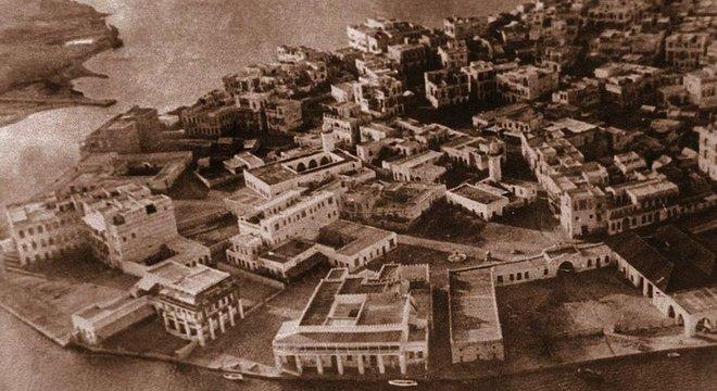 Foto de 1930 mostra todo o esplendor de Suakin no passado