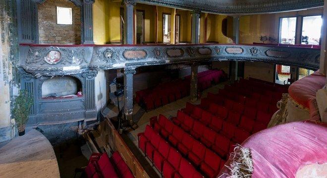 O hoje decadente Theatre des Bleus de Bar, em Bar-le-Duc, será um dos patrimônios recuperados