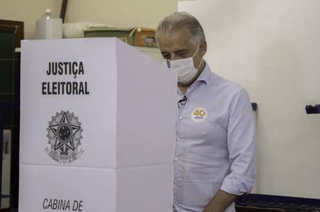Márcio França vota em São Paulo