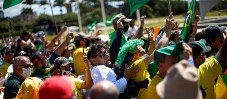 Fotógrafo Dida Sampaio é agredido durante manifestação