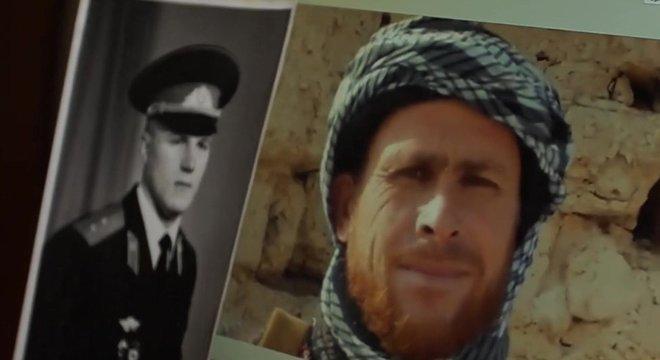 Igor Bilokurov desapareceu quando lutava pelo Exército Soviético no Afeganistão, em 1988. Será que ele é este misterioso homem (à direita na foto) que diz ter perdido a memória?