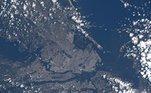 Fotos espaço-Terra-astronautas