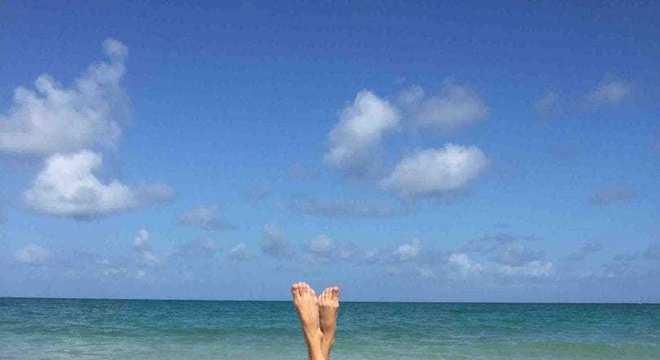 Fotos na praia - Ideias e exemplos para por em prática
