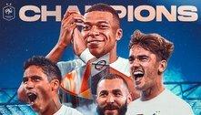 Graças a um gol estranho a França conquista a Nations League 20/21