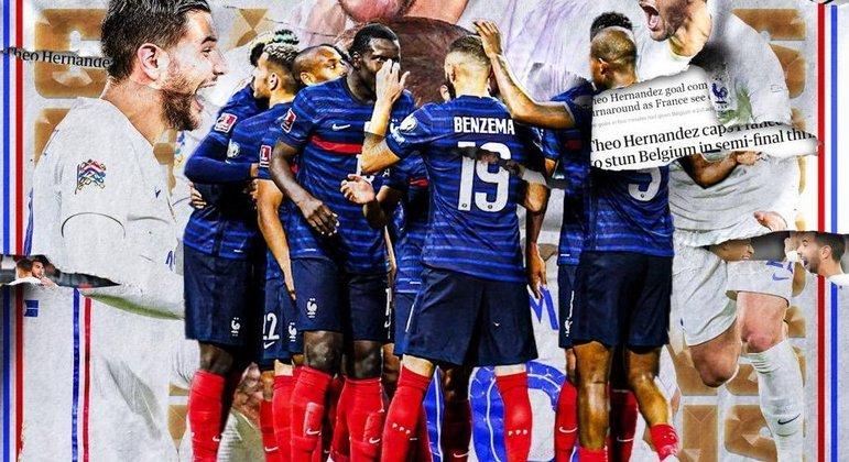 França, a recém-campeã da Nations League