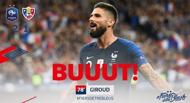 Giroud, o penal que salvou a França