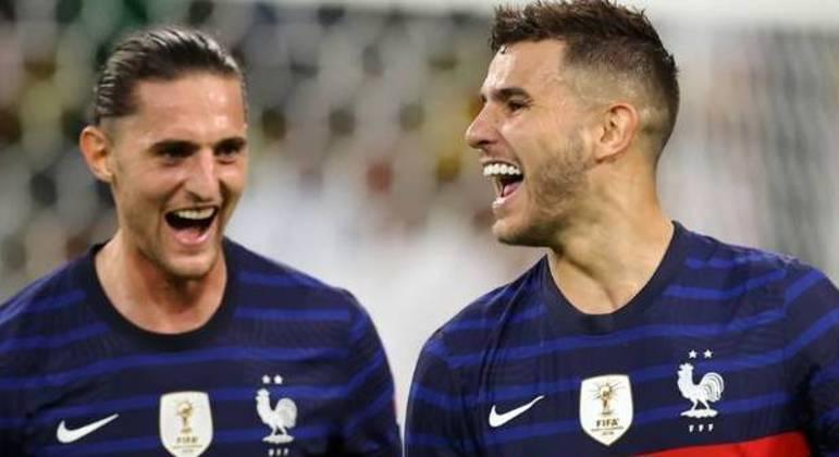 Rabiot e Hernández, da França