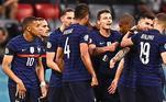 França, Benzema, Mbappé, Varane