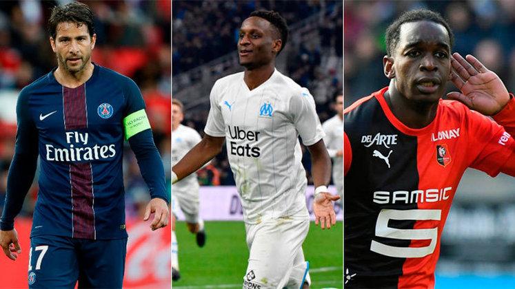 França (Ligue 1) - Paris Saint-Germain, Olympique de Marselha e Rennes serão os três times do país na Champions League da próxima temporada (2020/21). A decisão ocorreu na última quinta, quando a Liga de Futebol Profissional da França (LFP) anunciou o fim da atual temporada e decretou o PSG como vencedor.