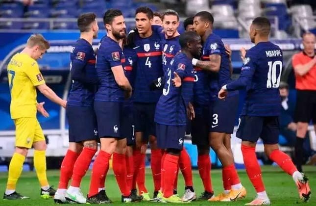França: quatro títulos