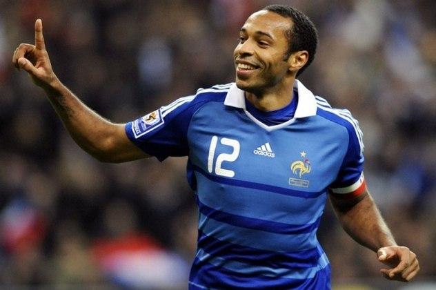 França - Thierry Henry: 51 gols em 124 jogos