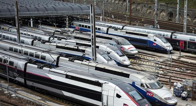 Incidente aconteceu a bordo de um trem de alta velocidade na França