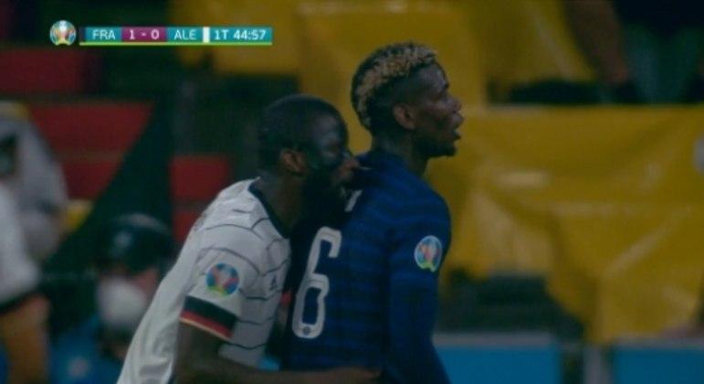 França x Alemanha - Pogba e Rüdiger