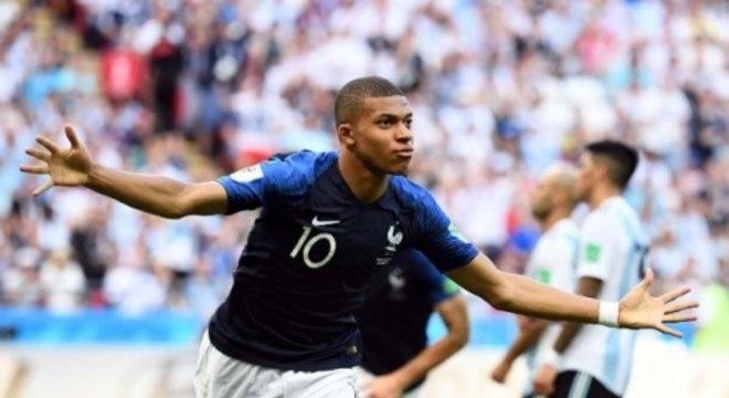 França x Argentina - Mbappé