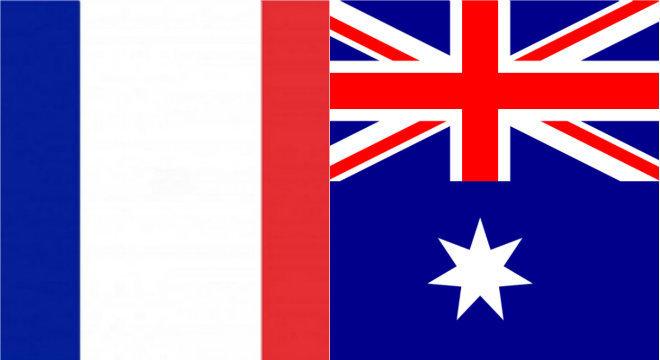 Resultado de imagem para frança x austrália