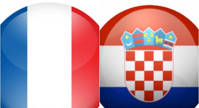 Resultado de imagem para França x Croácia