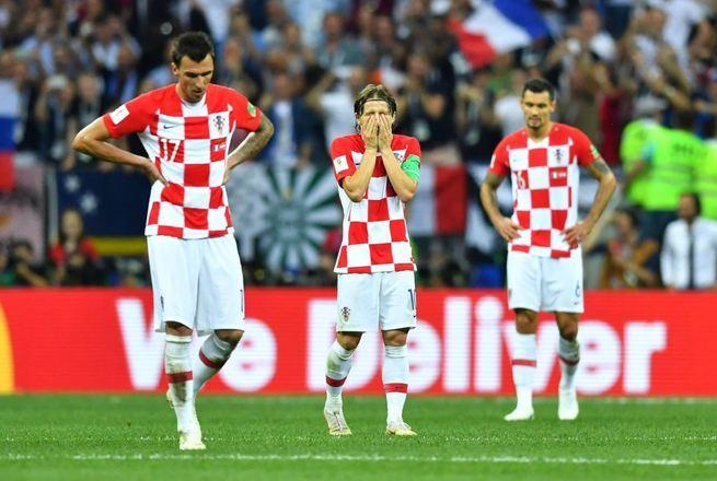 O placar de 4 x 1 fez com que os croatas lamentassem o que parecia perdido