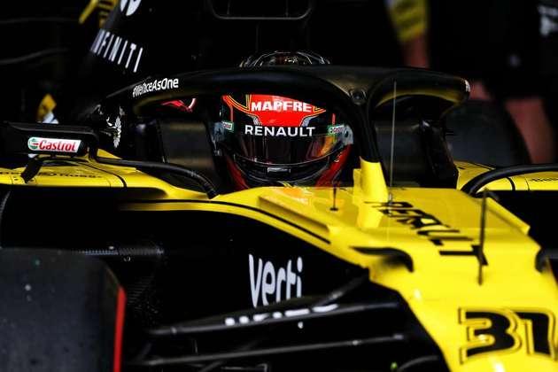 Francês repete a posição de largada do GP da Rússia
