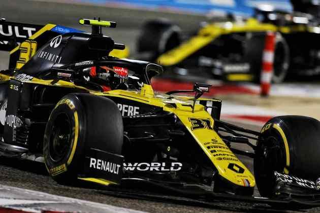 Francês voltou a pontuar depois de duas corridas.
