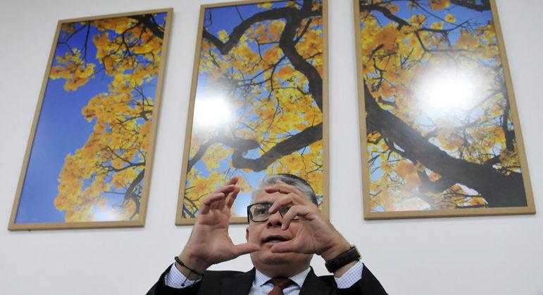 O ex-secretário de Saúde do DF Francisco Araújo