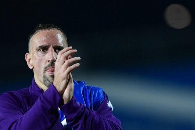 Franck Ribéry (38 anos): atacante - Último clube: Fiorentina - Valor de mercado: 3 milhões de euros.