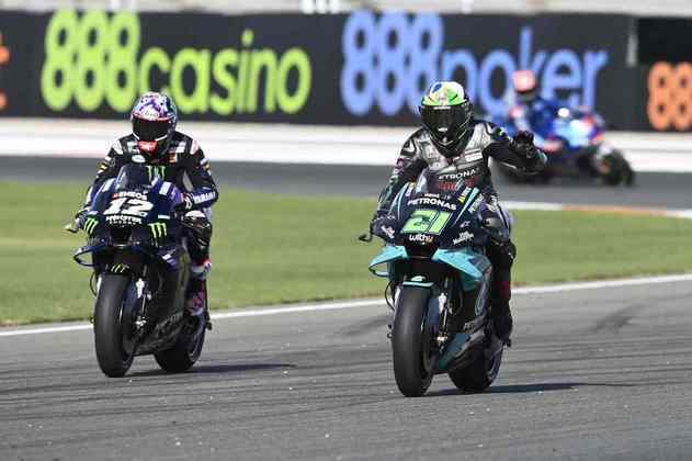 Franco Morbidelli, 11º, foi a melhor Yamaha do domingo