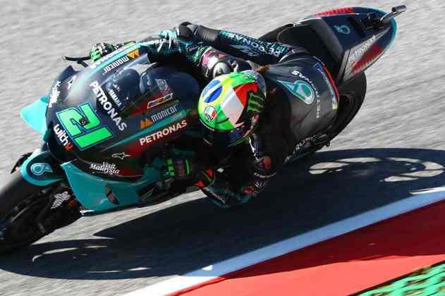 Franco Morbidelli alinhou em 11º no grid (Foto: Red Bull Content Pool)