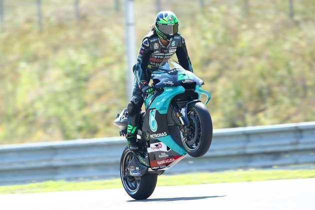 Franco Morbidelli ficou com a terceira posição