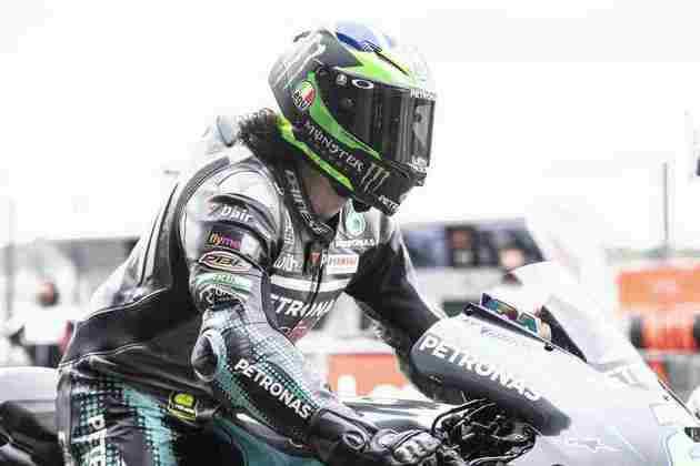 Franco Morbidelli larga da pole-position