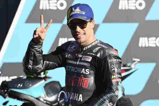 Franco Morbidelli sai em segundo no GP de Portugal