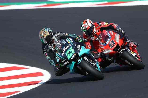 Franco Morbidelli terminou em nono o GP da Emília-Romanha