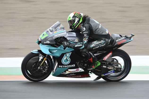Franco Morbidelli tratou de colocar a Yamaha na terceira colocação da tabela