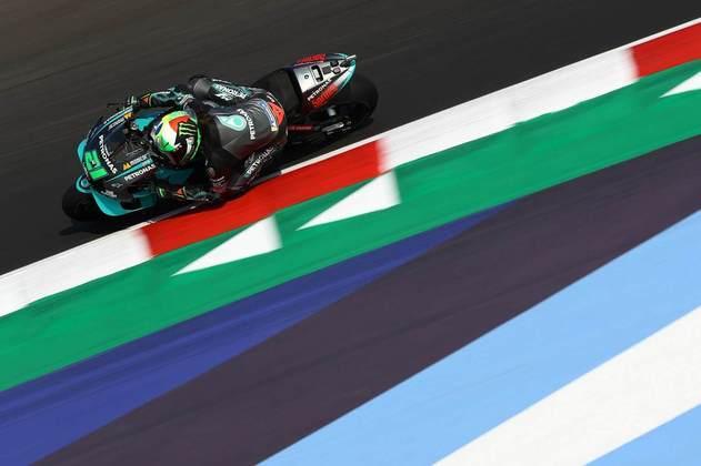 Franco Morbidelli, vencedor na semana passada, foi sexto