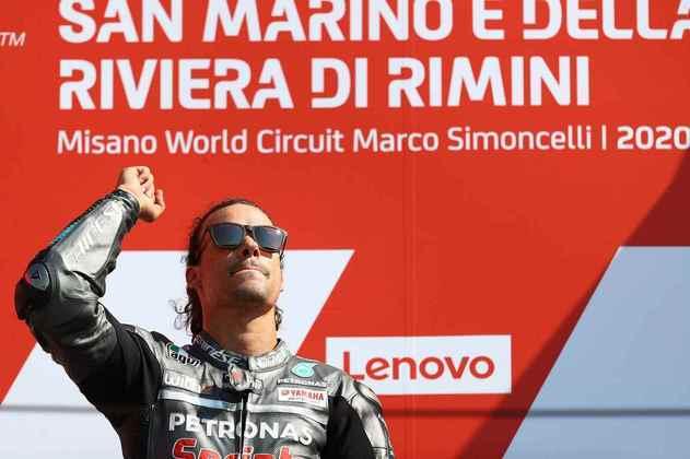 Franco Morbidelli venceu a corrida 1 em Misano, seu primeiro triunfo na classe rainha