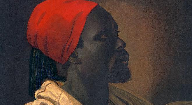 François-Dominique Toussaint, conhecido como o Napoleão Negro, é tido como um dos heróis da revolução que resultou na inpendendência do Haiti