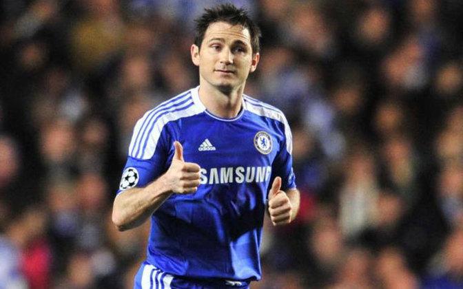 Frank Lampard: Escolhido pelo voto popular para entrar no Hall da Fama. Clubes na Premier League - West Ham, Chelsea e Manchester City. Posição - Meia