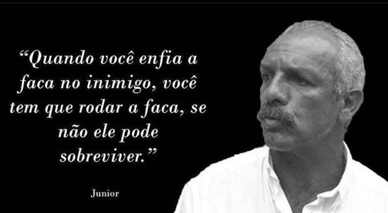 Frase do Maestro Júnior durante a transmissão repercutiu nas redes sociais