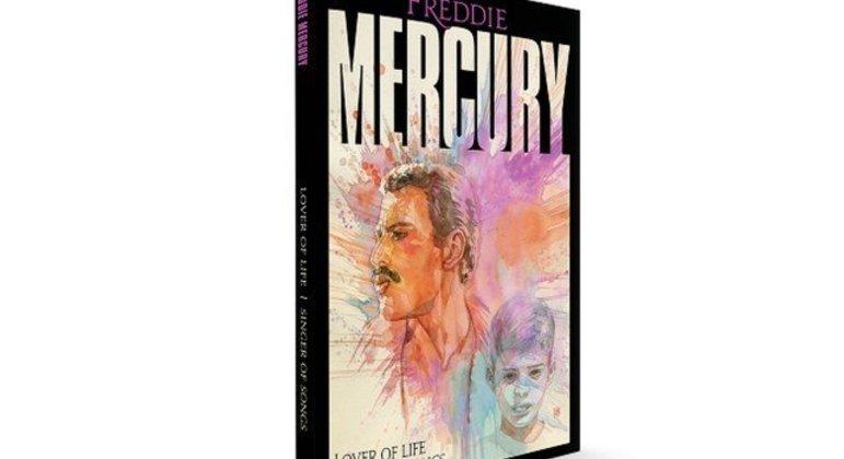 Livro, lançado em novembro, vai relembrar a vida de Mercury