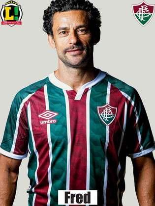 Fred - 5,0 - Criou a primeira oportunidade do Fluminense com um cabeceio, mas não teve destaque ao longo da partida.