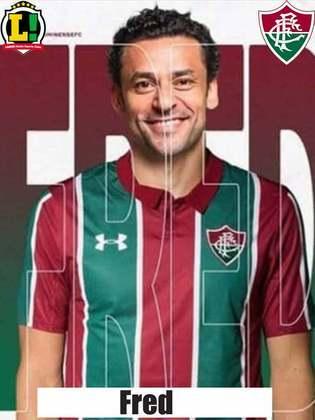 Fred - 5,5 Entrou no lugar de Pacheco no intervalo. Isolado, o atacante não teve oportunidades de chutar contra o gol do Flamengo e pouco ajudou a equipe.