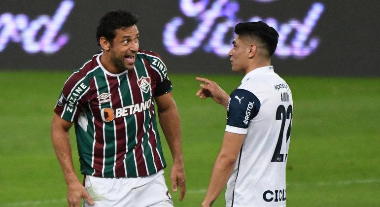 Fred decidiu o jogo para o Fluminense